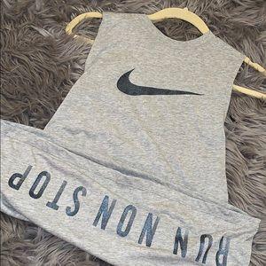 Nike grey tank top